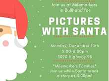 Pictures with Santa at Milemarkers Therapy - Bullhead City