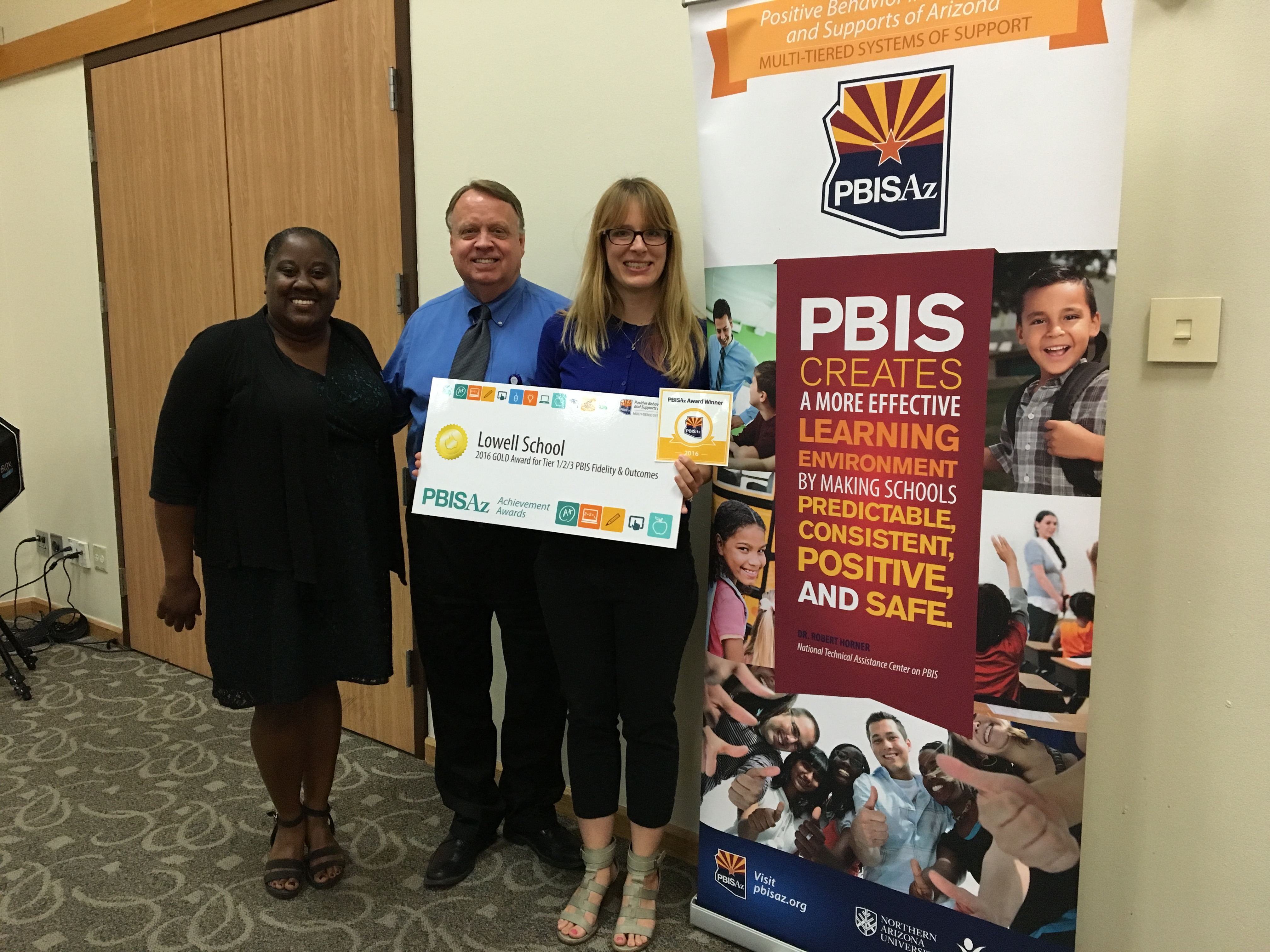 Lowell Elementary wins PBIS award