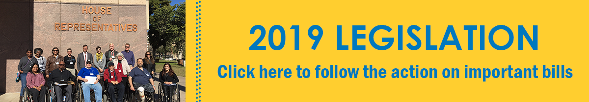 2019 Legislation - Click here to follow bill updates
