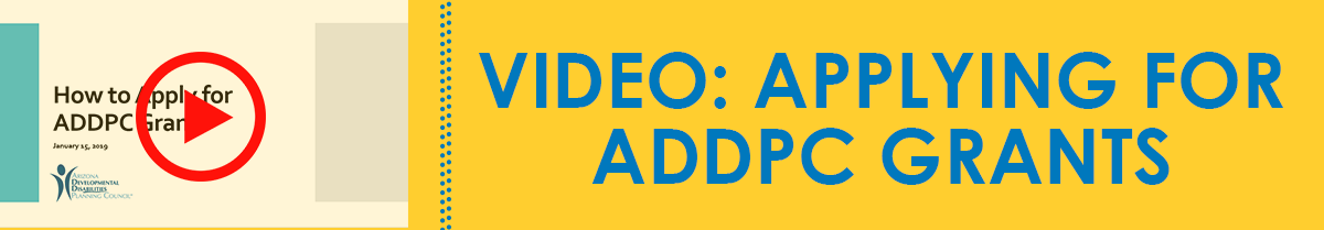 Click here to watch How to Apply for ADDPC Grants video