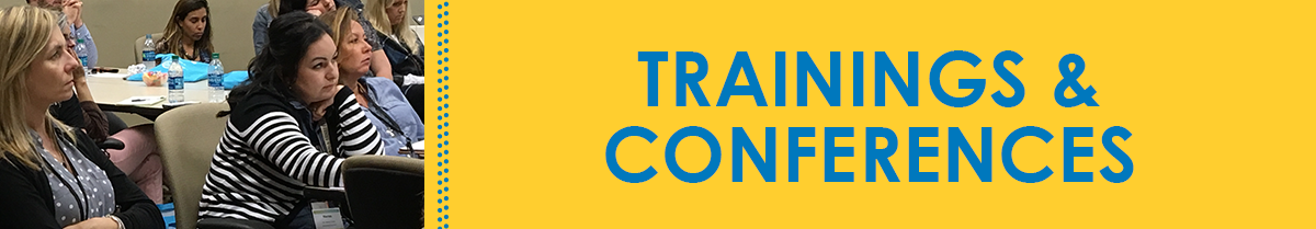 Trainings and Conferences