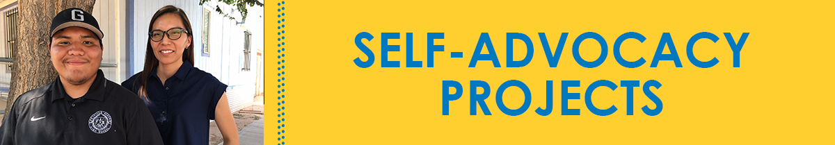 Self Advocacy Projects