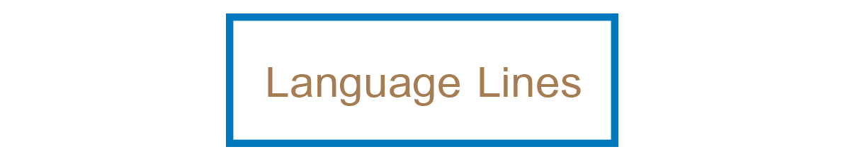 Click here for Language Lines