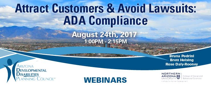 ADA Compliance webinar banner