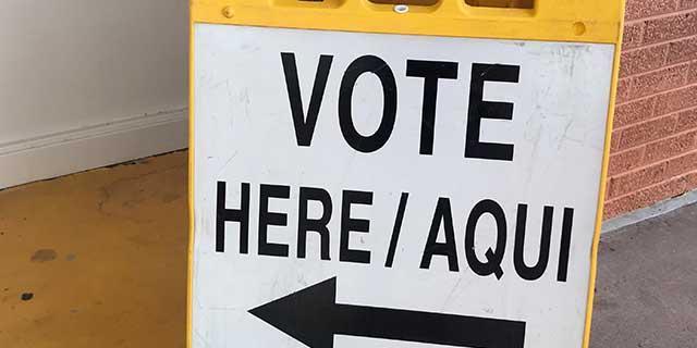 Vote Here Image