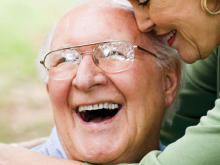 An image of an older couple laughing_Camp Verde Caregiver Support Group