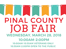 Pinal County Job Fair 2018