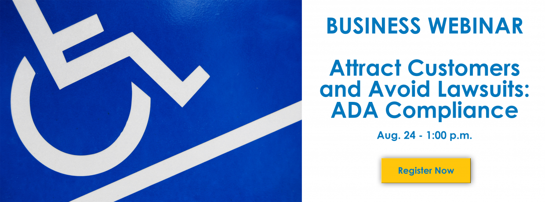 ADA Webinar slide